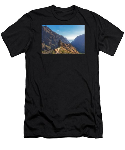 Men's T-Shirt (Athletic Fit) featuring the photograph Masca by James Billings