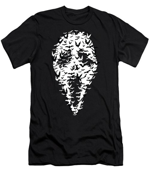 Mask Men's T-Shirt (Athletic Fit)
