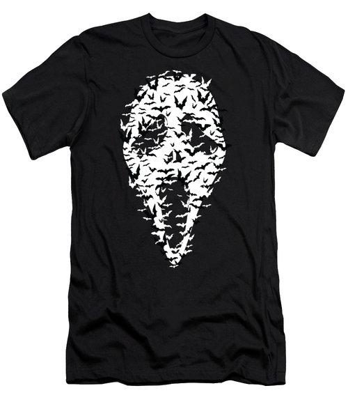 Mask Men's T-Shirt (Athletic Fit)
