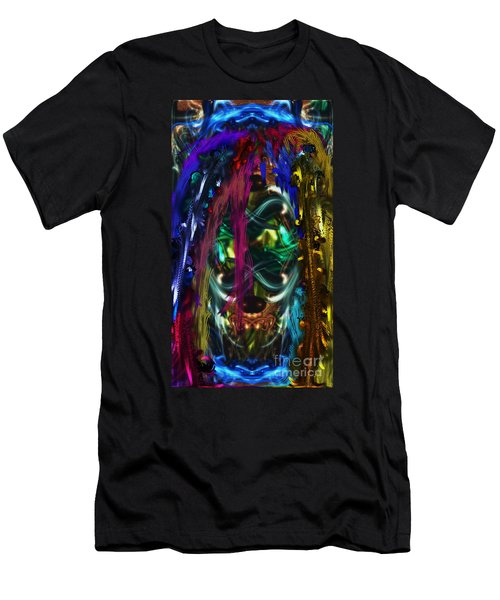 Mask Of The Spirit Guide Men's T-Shirt (Athletic Fit)