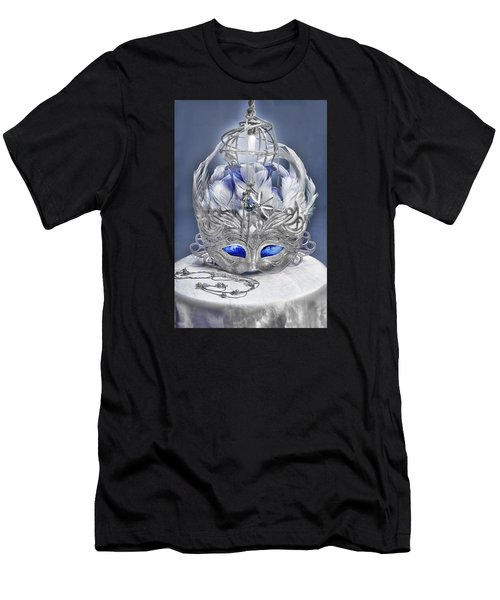 Mask Still Life Blue Men's T-Shirt (Athletic Fit)
