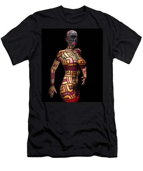 Studio Woman Render 15 Men's T-Shirt (Athletic Fit)