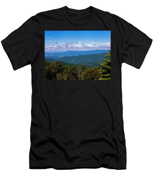 Men's T-Shirt (Athletic Fit) featuring the photograph Massanutten by Penny Lisowski