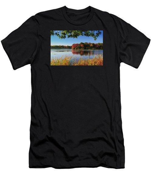 Massapequa Nature Preserve Men's T-Shirt (Slim Fit) by Jose Oquendo