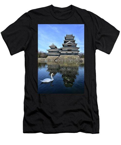 Matsumoto Swan Men's T-Shirt (Athletic Fit)