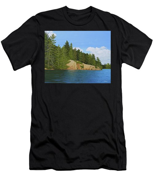 Matthew's Paddle Men's T-Shirt (Athletic Fit)