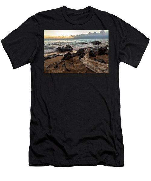 Maui Beach Sunset Men's T-Shirt (Athletic Fit)