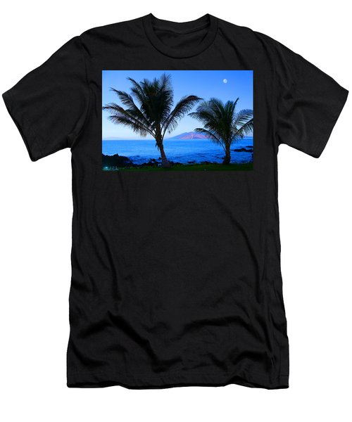 Maui Coastline Men's T-Shirt (Slim Fit) by Michael Rucker