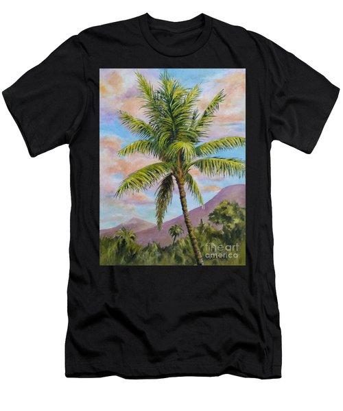 Maui Palm Men's T-Shirt (Athletic Fit)