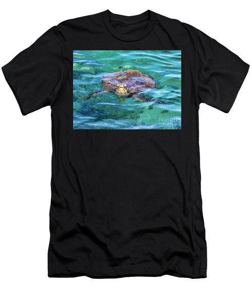 Maui Sea Turtle Men's T-Shirt (Athletic Fit)