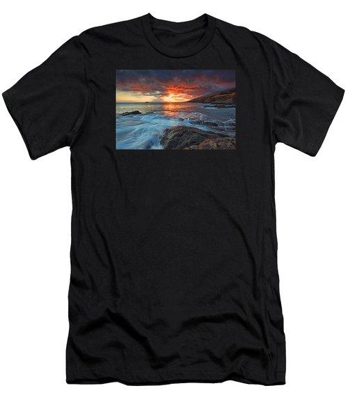 Maui Skies Men's T-Shirt (Athletic Fit)