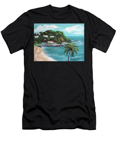 Maunabo Puerto Rico Men's T-Shirt (Athletic Fit)