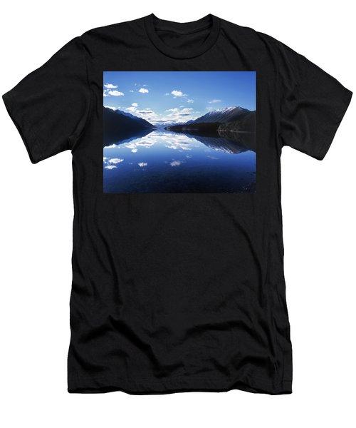 South Mavora Lake, Southland, New Zealand. Men's T-Shirt (Athletic Fit)