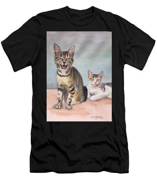 Maxi And Girlfriend Men's T-Shirt (Athletic Fit)