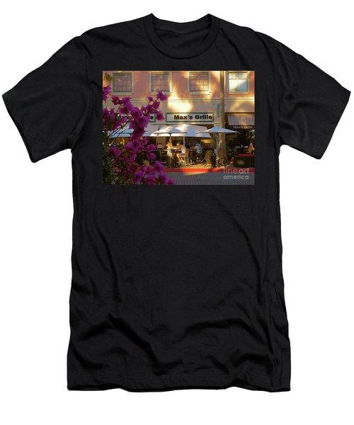 Max's Cafe In Mizner Park. Boca Raton, Fl Men's T-Shirt (Athletic Fit)
