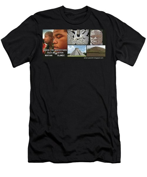 Mayan Olmec Men's T-Shirt (Athletic Fit)