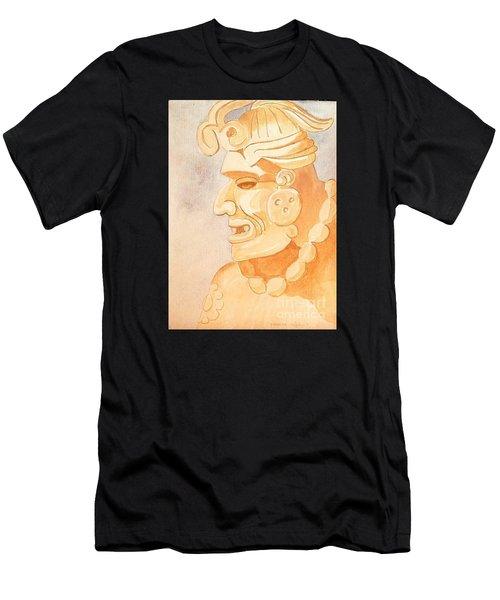 Mayan Warrior Men's T-Shirt (Athletic Fit)