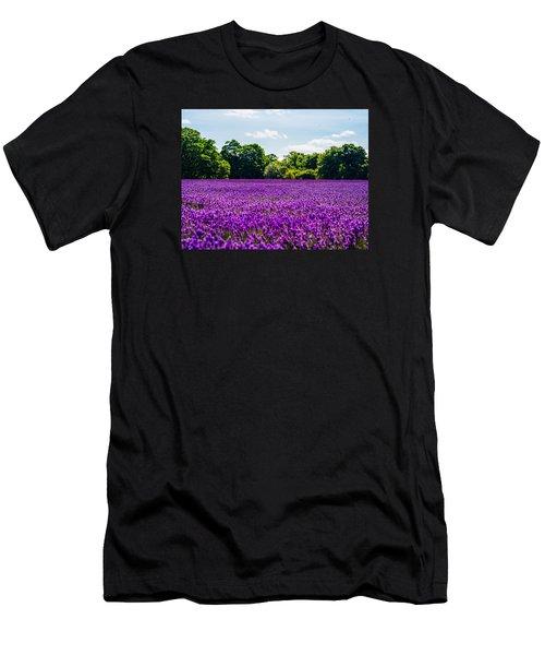 Mayfield Lavender Men's T-Shirt (Athletic Fit)