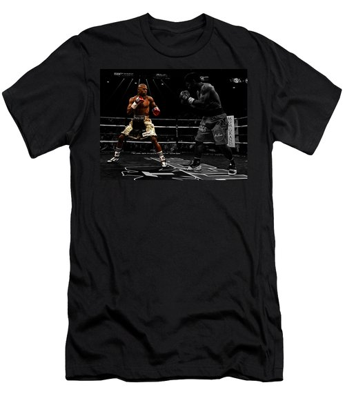 Mayweather And Pacquiao Men's T-Shirt (Slim Fit) by Brian Reaves