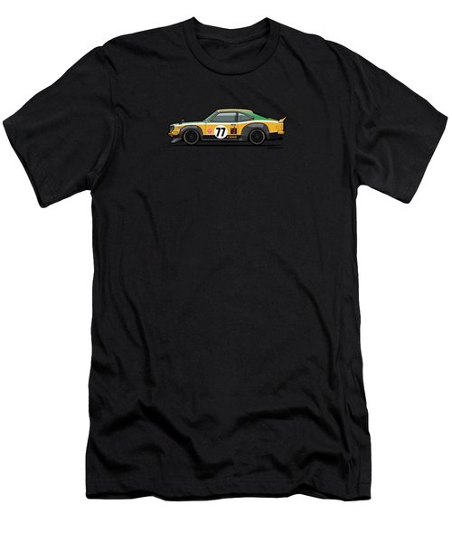 Mazda Savanna Gt Rx3 Racing Yoshimi Katayama 1975 Men's T-Shirt (Athletic Fit)