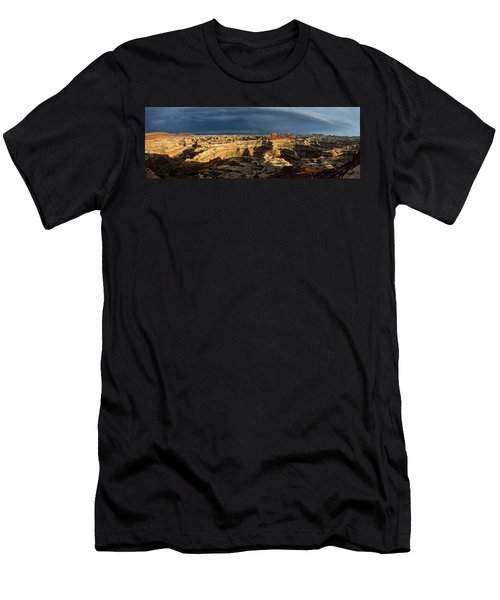 Maze Panorama Men's T-Shirt (Athletic Fit)