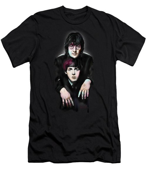 Mccartney And Lennon Men's T-Shirt (Athletic Fit)