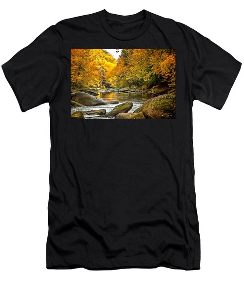 Mcconnell's Mill State Park Men's T-Shirt (Athletic Fit)