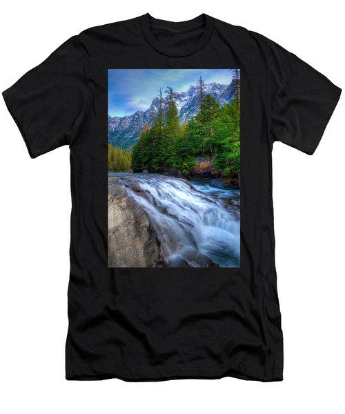 Mcdonald Creek Men's T-Shirt (Athletic Fit)