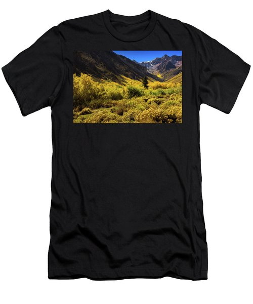 Men's T-Shirt (Athletic Fit) featuring the photograph Mcgee Creek Alive With Color by John Hight