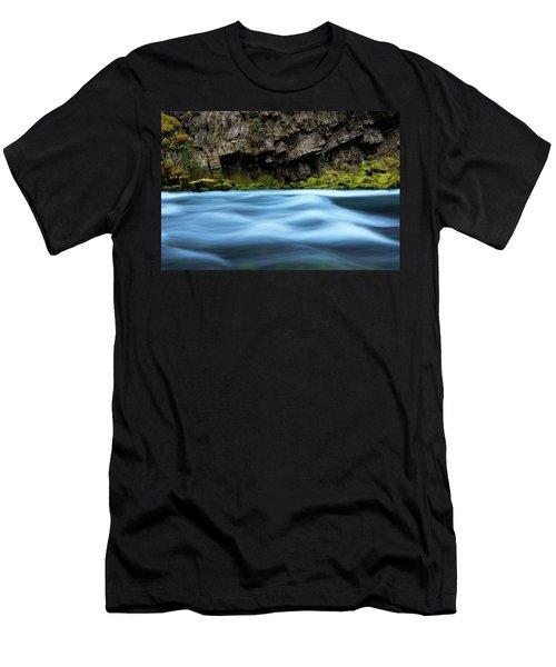 Mckenzie Blue Men's T-Shirt (Athletic Fit)
