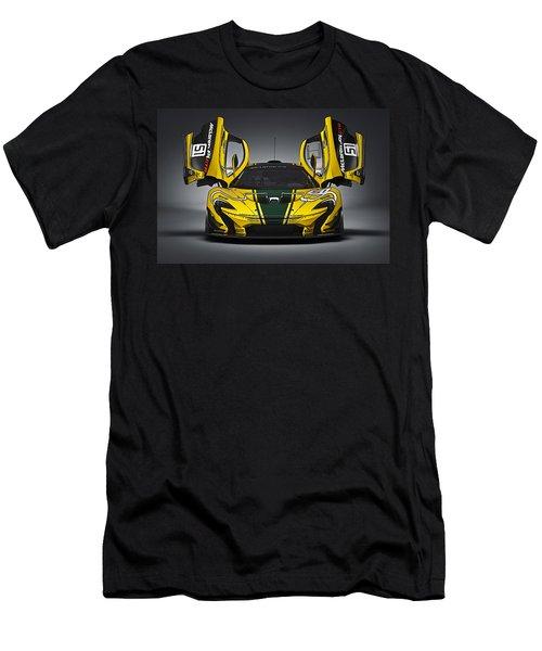 Mclaren P1 Gtr Men's T-Shirt (Athletic Fit)