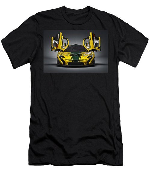 Mclaren P1 Gtr Men's T-Shirt (Athletic Fit)