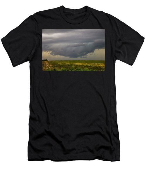 Mcluvn Nebraska Thunderstorms 018 Men's T-Shirt (Athletic Fit)