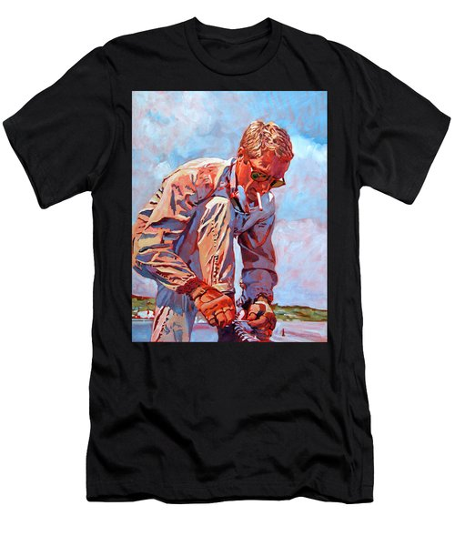 Mcqueen Cool - Steve Mcqueen Men's T-Shirt (Athletic Fit)