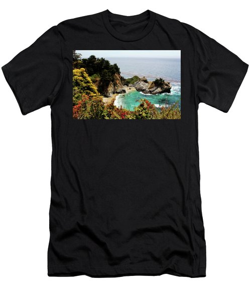 Mcway Falls 2 Men's T-Shirt (Slim Fit) by Judy Vincent