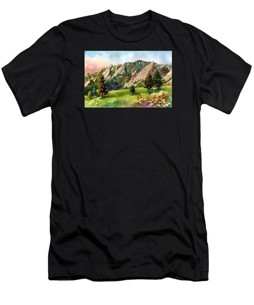 Meadow At Chautauqua Men's T-Shirt (Athletic Fit)