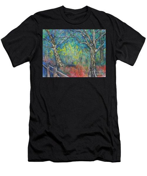 Meadow Dream Men's T-Shirt (Athletic Fit)