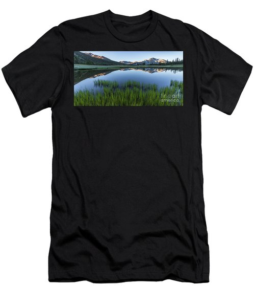 Meadow Reflections  Men's T-Shirt (Athletic Fit)