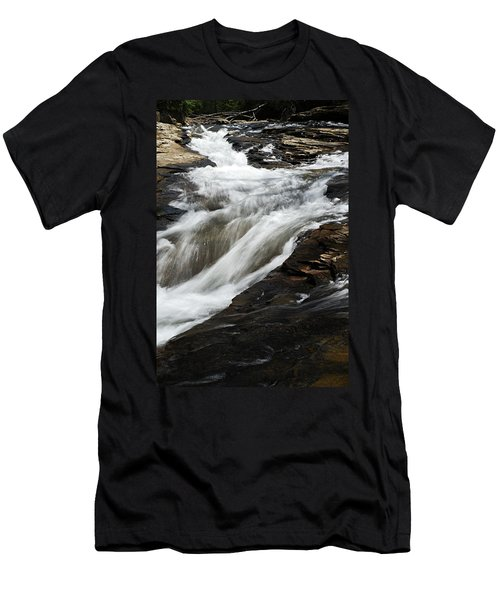 Meadow Run Water Slide 2 Men's T-Shirt (Athletic Fit)
