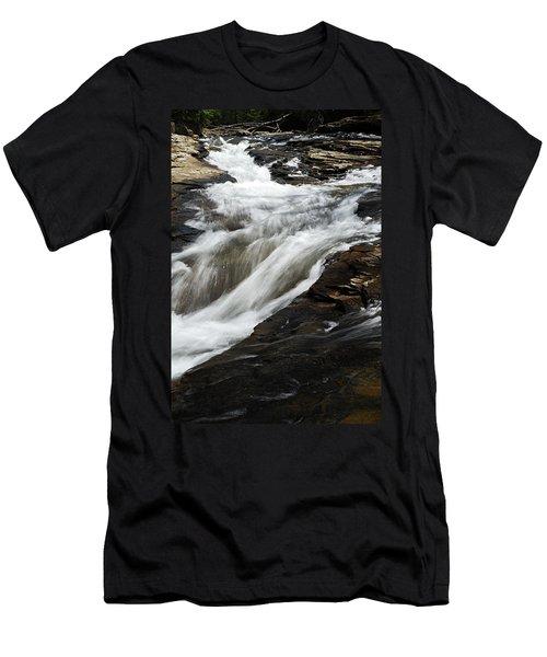 Meadow Run Water Slide 2 Men's T-Shirt (Athletic Fit)