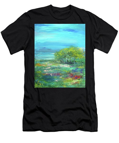Meadow Trees Men's T-Shirt (Athletic Fit)