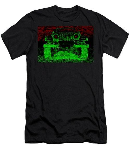Mean Green Machine Men's T-Shirt (Athletic Fit)