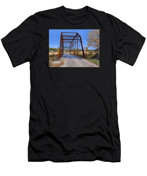 Medford Avenue Bridge Men's T-Shirt (Athletic Fit)