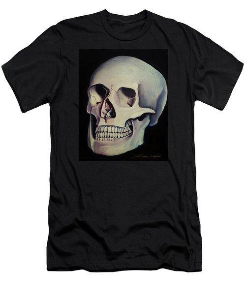 Medical Skull  Men's T-Shirt (Slim Fit) by James Christopher Hill