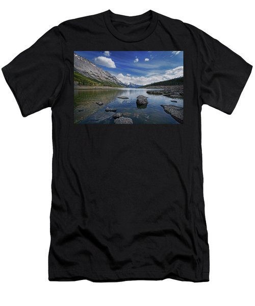 Medicine Lake, Jasper Men's T-Shirt (Athletic Fit)