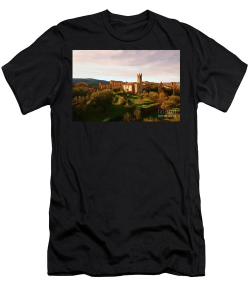 Medieval Tuscany Men's T-Shirt (Athletic Fit)