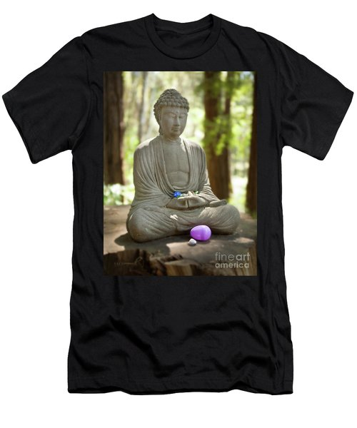 Meditation Buddha With Offerings Men's T-Shirt (Athletic Fit)