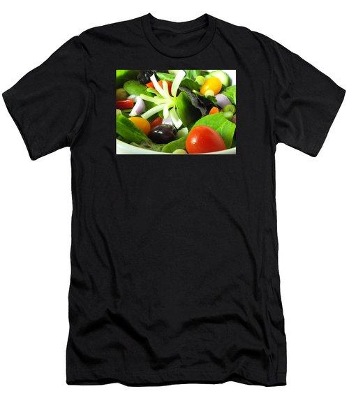 Mediterranean Salad Men's T-Shirt (Athletic Fit)
