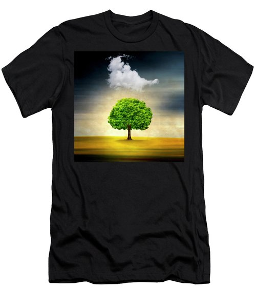 Medusa Rain Men's T-Shirt (Athletic Fit)