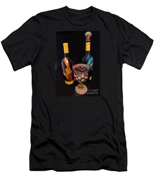 Meeker Merlot Merriment Men's T-Shirt (Athletic Fit)